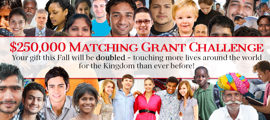 Reasonable Faith $150,000 Matching Grant Challenge