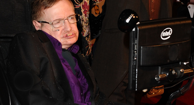 Stephen Hawking in the News
