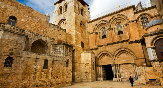 Recent Opening of the Tomb of Jesus