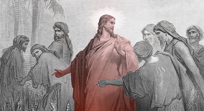 Jesus Under Fire