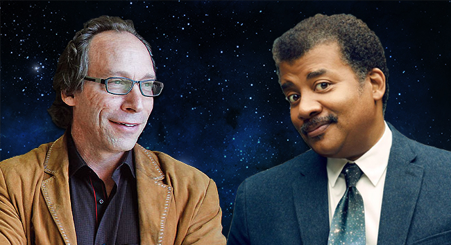 The Latest From Lawrence Krauss and Neil deGrasse Tyson