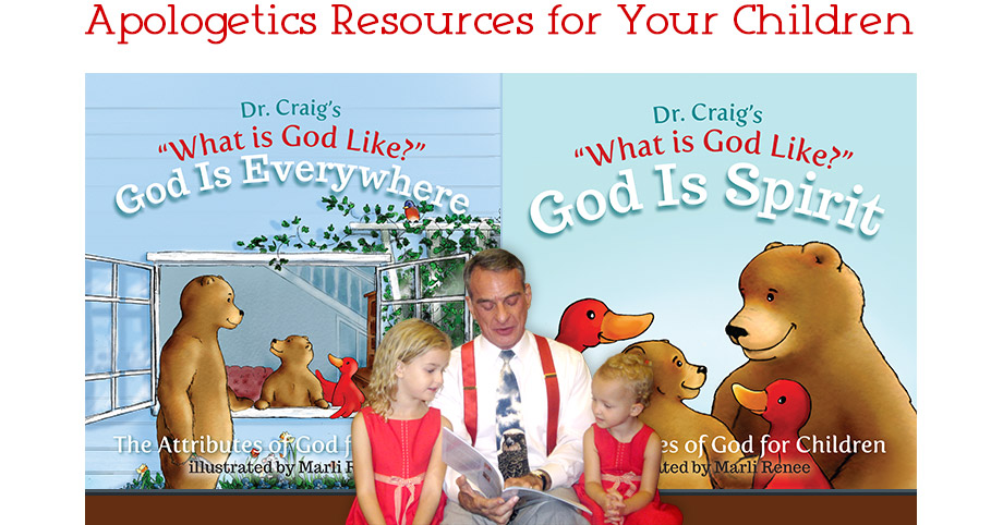 For forty years Dr. William Lane Craig has been drawing for his family pictures of the endearing characters Brown Bear, Red Goose, and their two children Charity and John.