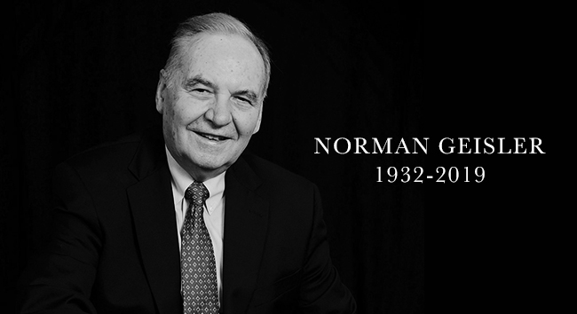 A Tribute to Norman Geisler