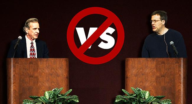Atheist Says to Stop Debating