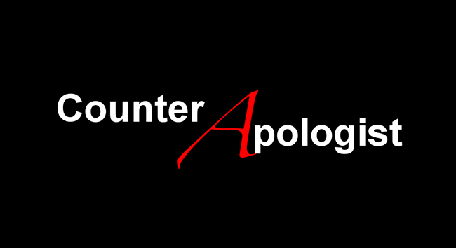 Counter Apologist Changes Tactics