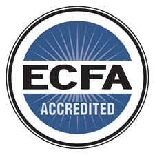 Logo showing a ECFA Accredited Foundation